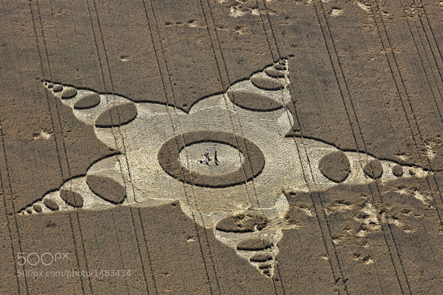 Photograph Dancing in the crop circle by Klaus Leidorf on 500px