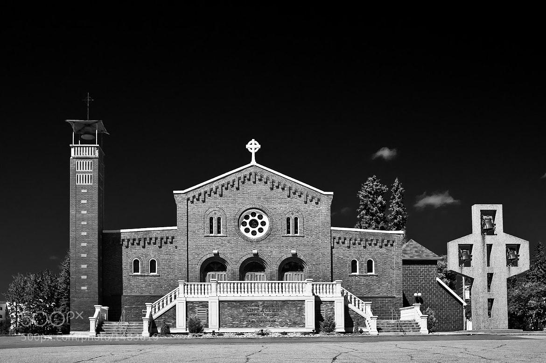 Photograph St. Albert Catholic Church by Ian McKenzie on 500px