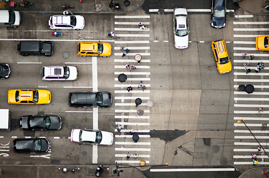 Photograph Intersection | NYC by Navid Baraty on 500px