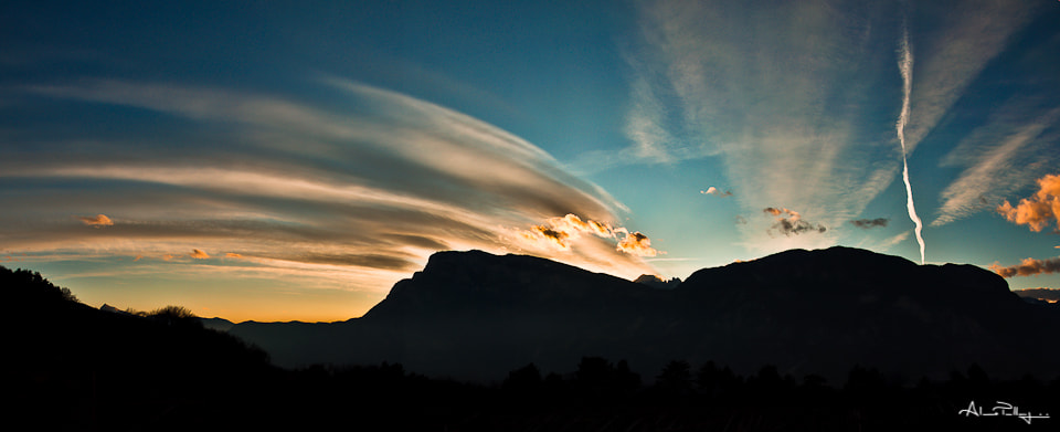 Photograph The mountain with the tuft by Alessio Pellegrini on 500px