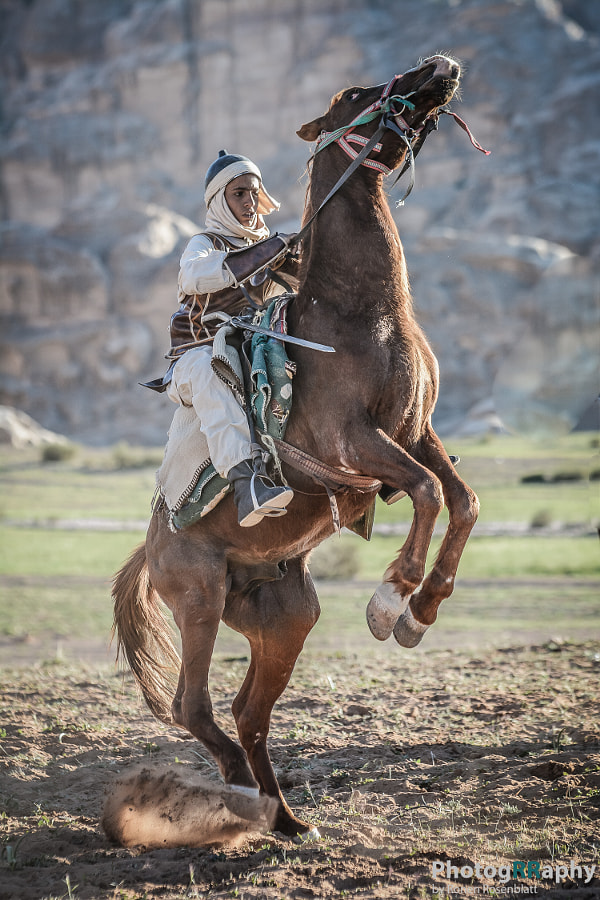 Riding a Horse...