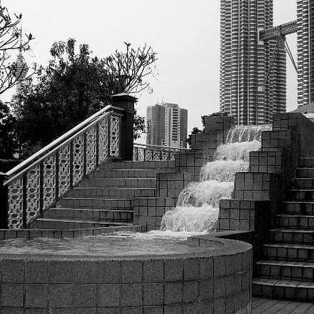 WATERFALL KLCC, Panasonic DMC-FX8