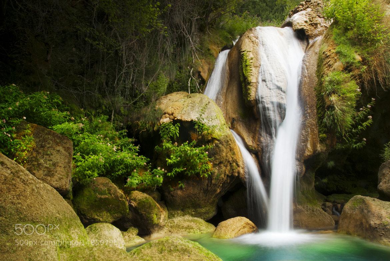 Photograph Urederra falls (IX) by David Pintado on 500px