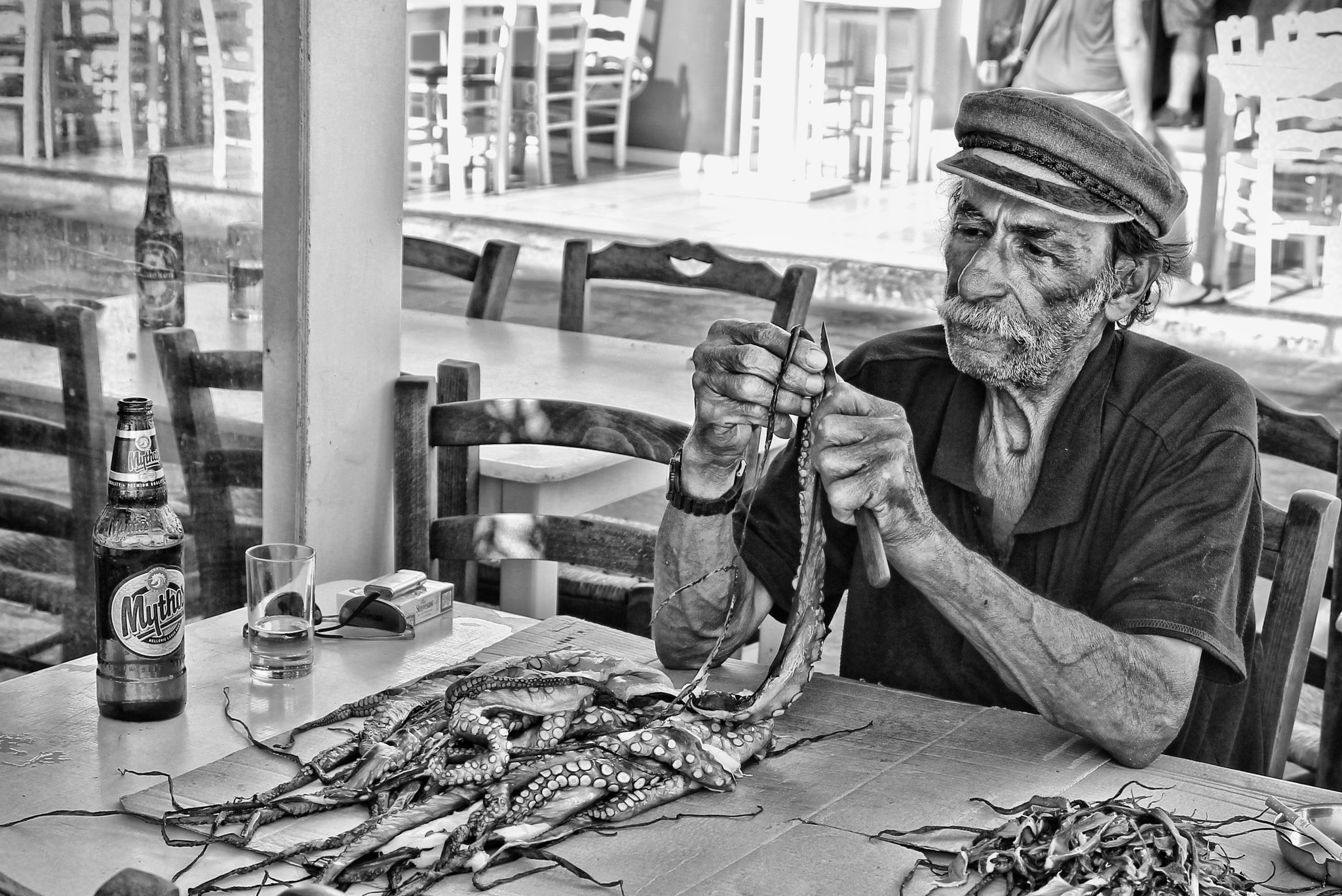 Photograph Greek fisherman by Victor castillo on 500px