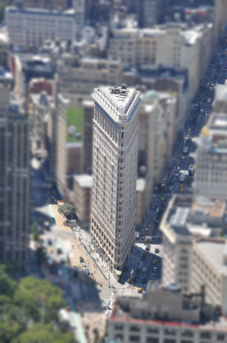 Photograph The Flat Iron New York by Bill Brown on 500px