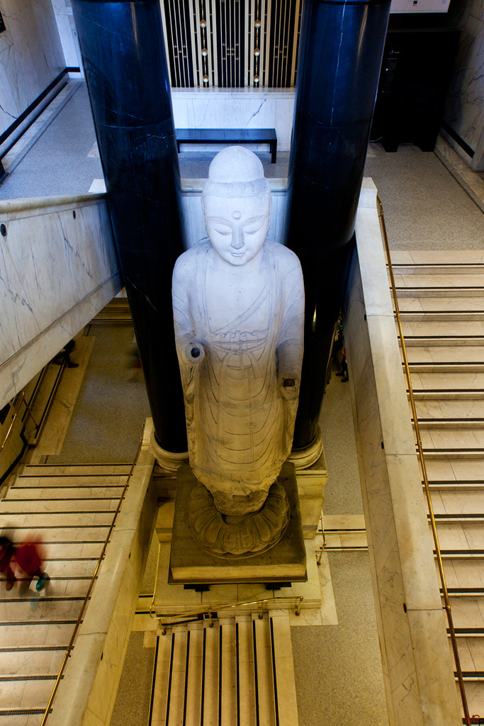 Photograph Big standing Buddah by Marc G on 500px