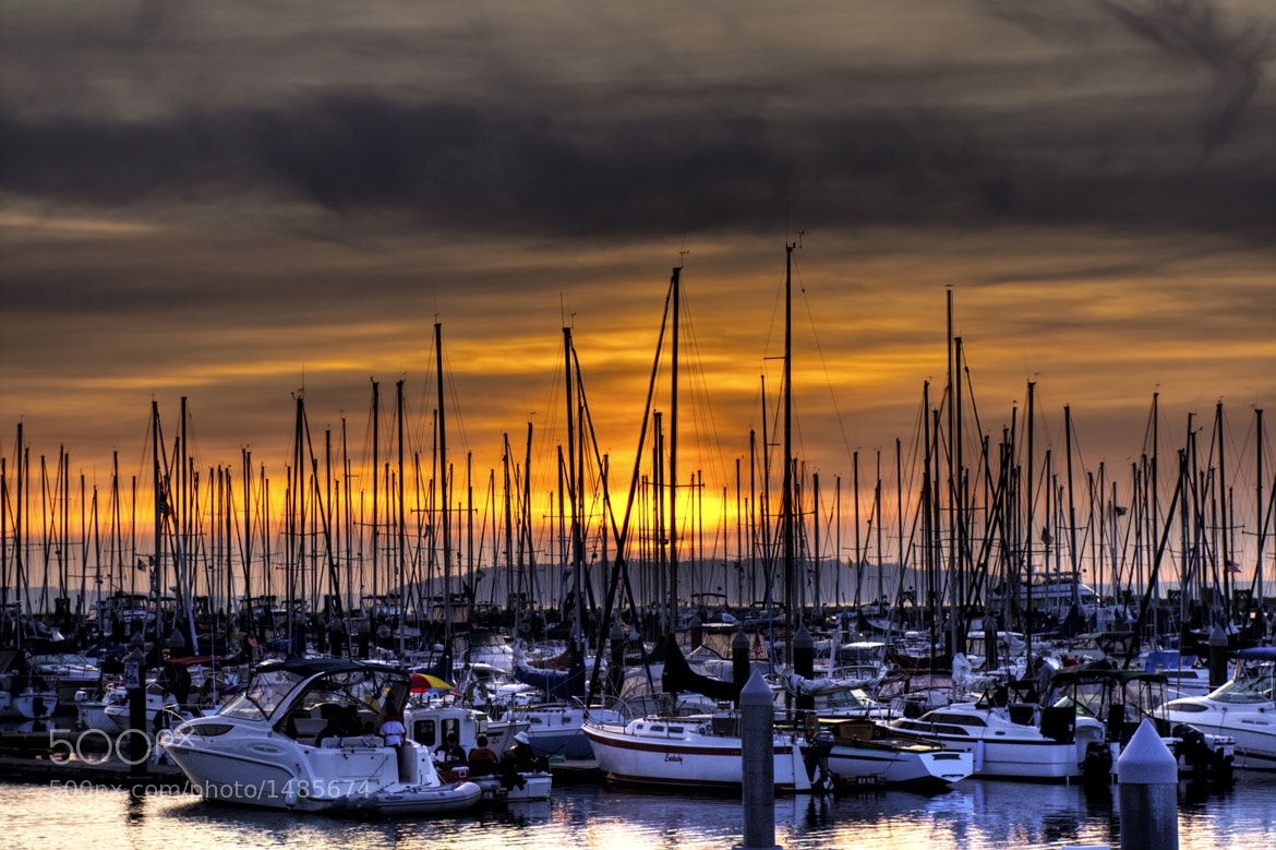 Photograph Sunset at the Marina by Brad Granger on 500px