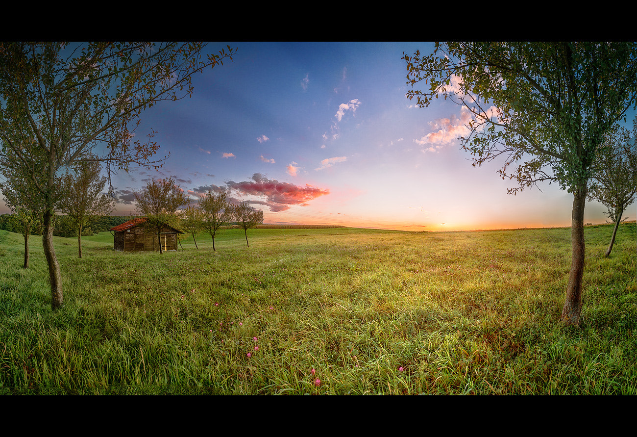 Photograph Sunset Shelter by Armin Barth on 500px
