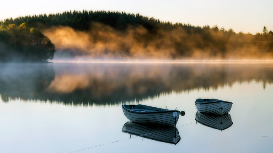 Photograph Loch Rusky, Trossachs... by David Mould on 500px