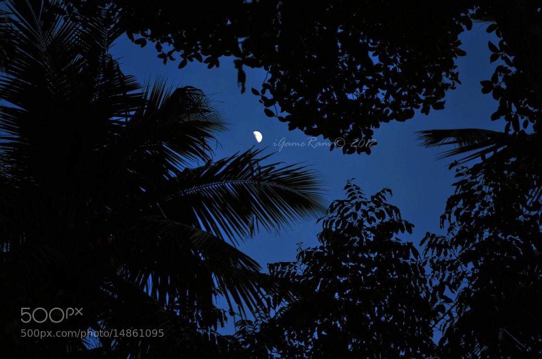 Photograph Moon by Sriram Haribabu on 500px