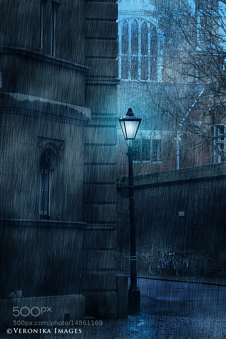 Photograph Rainy Night in Cambridge by Veronika Velkova on 500px