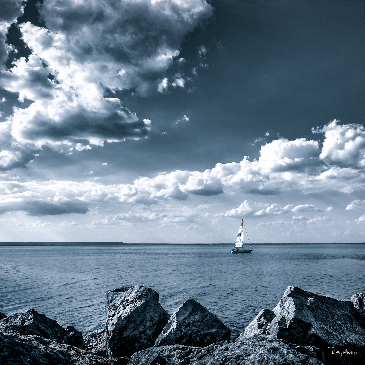 Photograph Sailing by Rey Amio on 500px