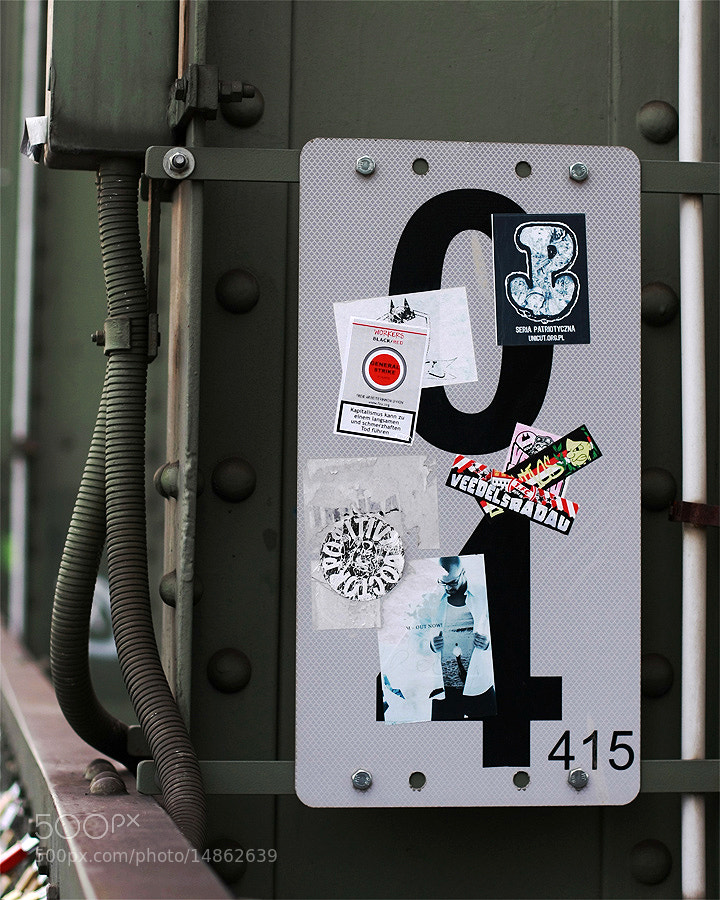 Photograph Zero Four Stickers by André  on 500px
