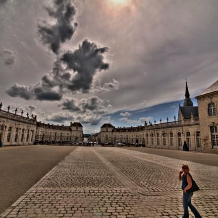 Courtyard stroll