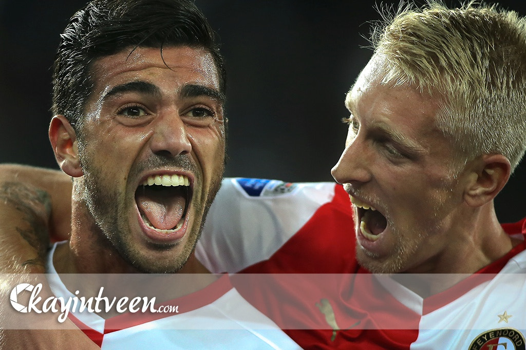 Photograph Graziano Pelle and Lex Immers heroes for Feyenoord by Kay in 't Veen on 500px