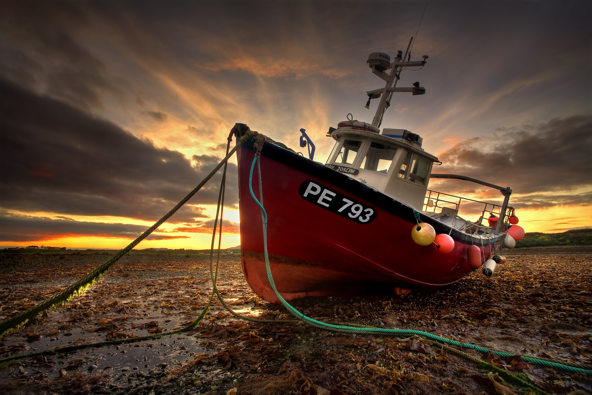 Photograph Red Fishing Boat by Gary McParland on 500px