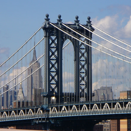 View from Brooklyn Bridge, Panasonic DMC-LZ2