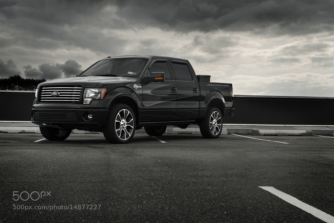 Photograph 2012 Ford F-150 Harley Davidson Edition by David Walker (19 yrs old) on 500px