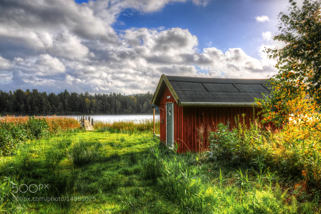 Photograph Cottage by the lake... by Almqvist Photo on 500px