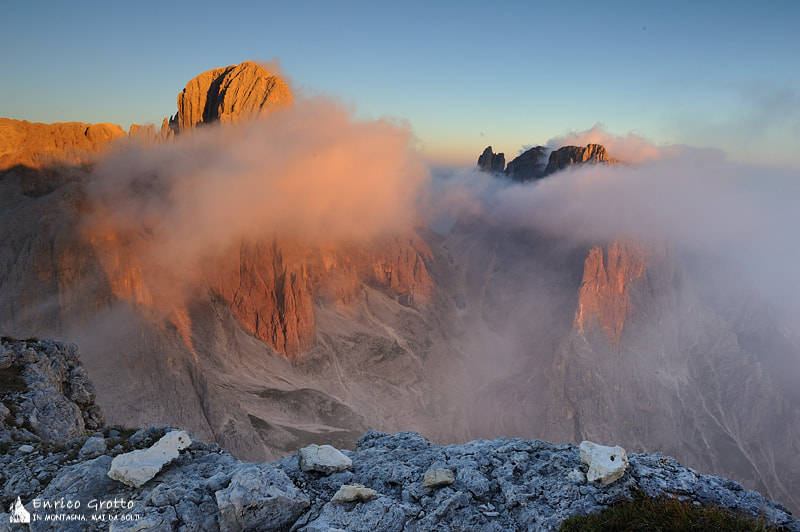 Photograph Pale Red Passion II | Dolomiti by Enrico Grotto on 500px