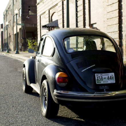 VW Beetle, Canon EOS REBEL T5, Canon EF 35mm f/1.4L