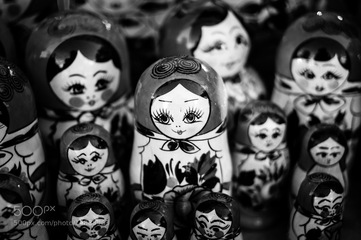 Photograph matryoshka dolls by Jakub Ostrowski on 500px