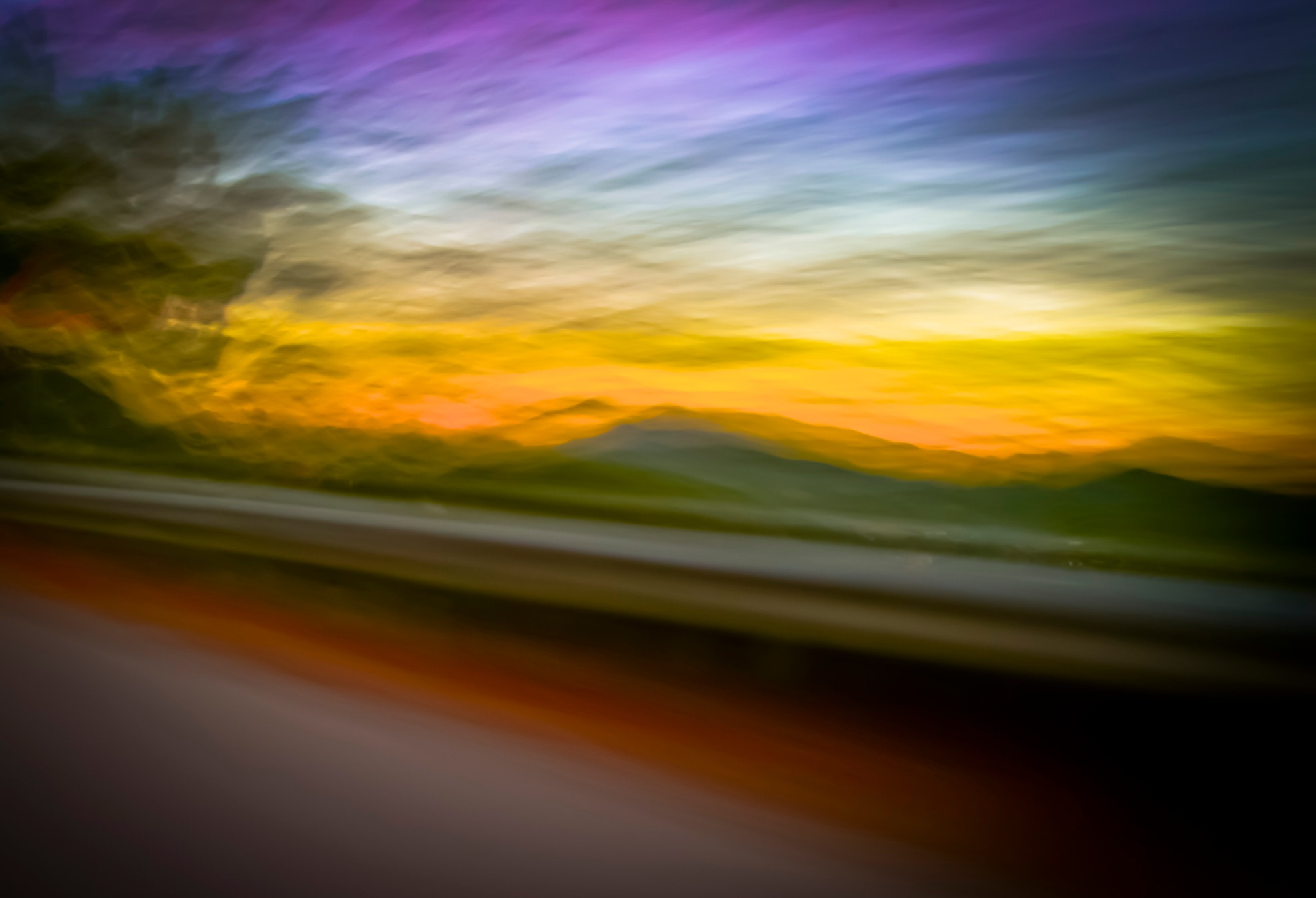Photograph Sunset blur by Rosario Manzo on 500px