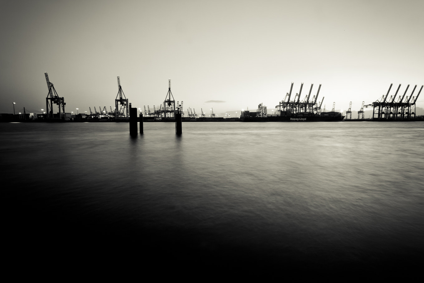 Photograph Minimal Harbor by Marco Guerreiro on 500px