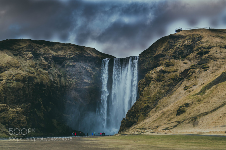 Waterfall by LashaKvit