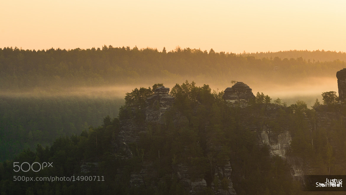 "Photograph Sunrise @ ""Bastei""  by Justus Steinfeldt on 500px"
