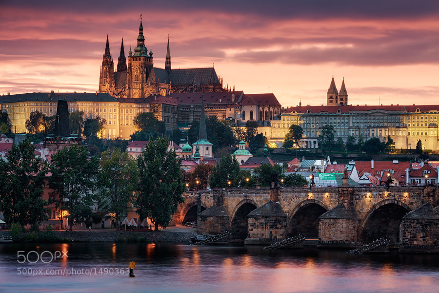 Photograph Prague - Golden City by Michael  Breitung on 500px