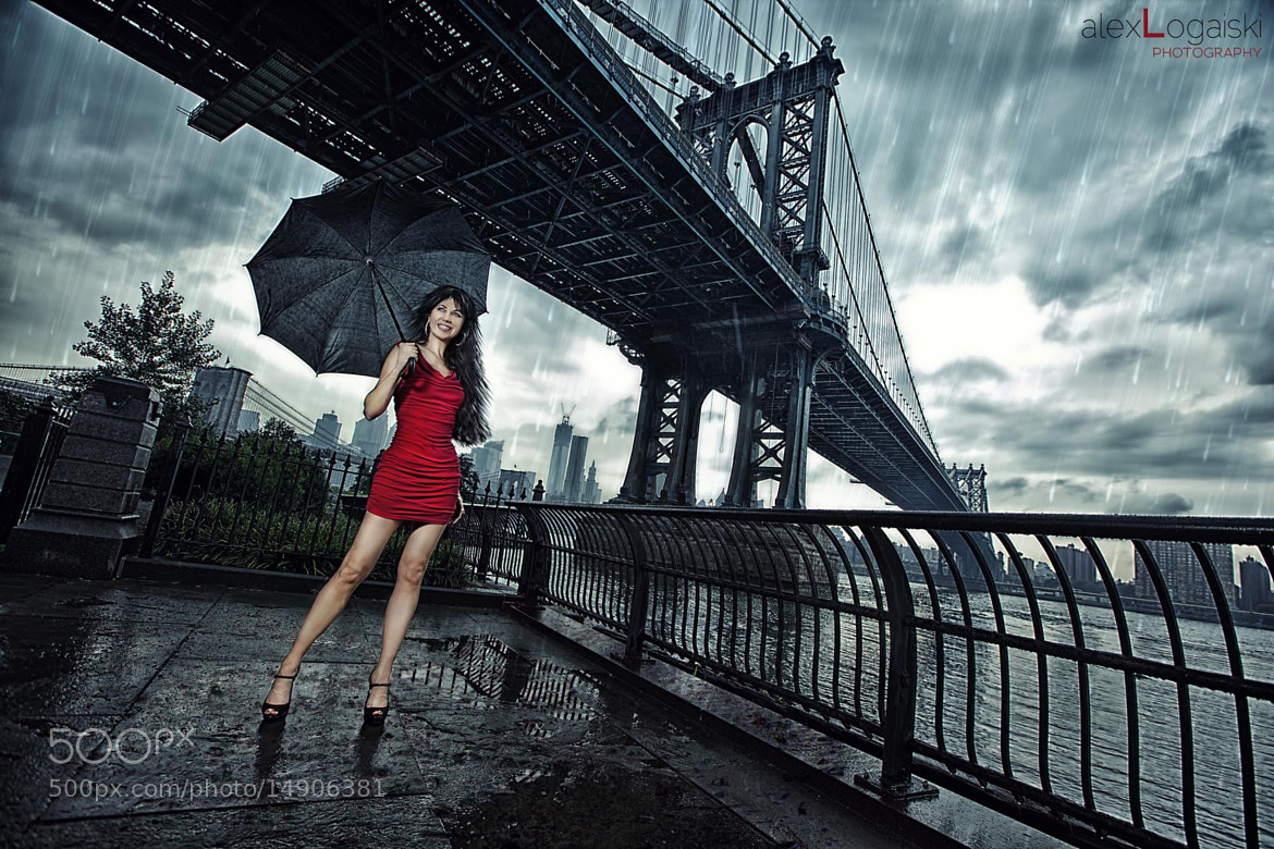 Photograph Girl in red by ALex Logaiski on 500px