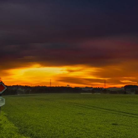 Sunrise over Condroz