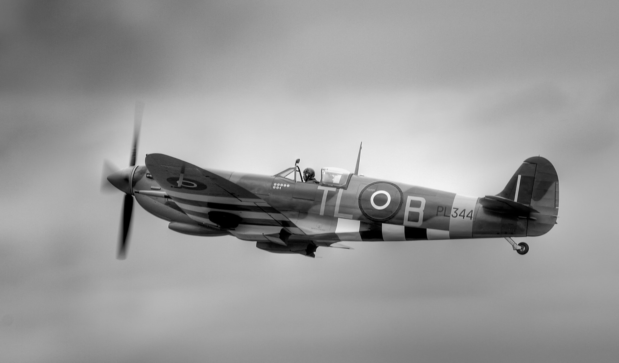 Photograph PL344 SPITFIRE by Karl Batchelor on 500px