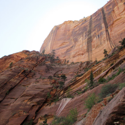 Zion National Park Canyon, Canon POWERSHOT ELPH 130 IS