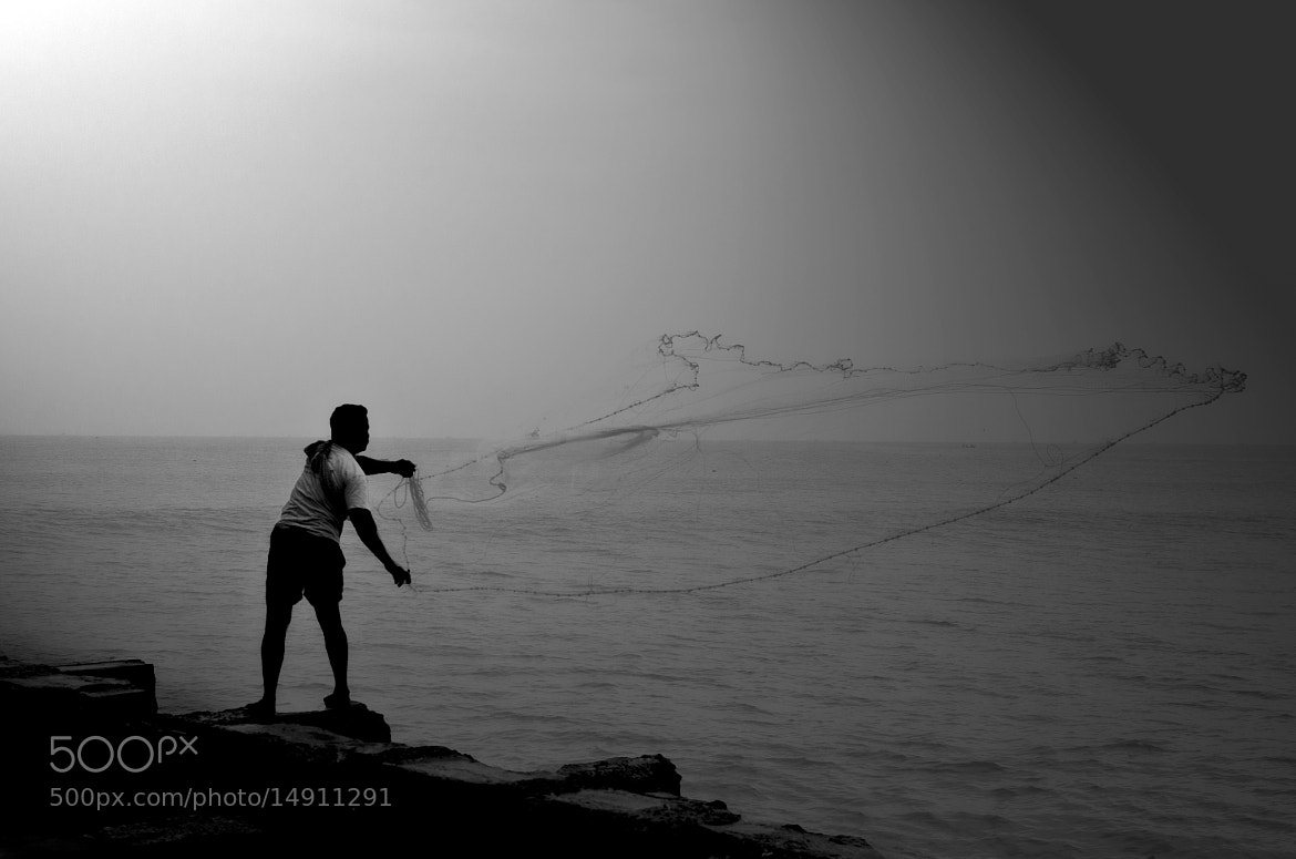 Photograph Edge of Fishing! by Sudharshun Gopalan on 500px