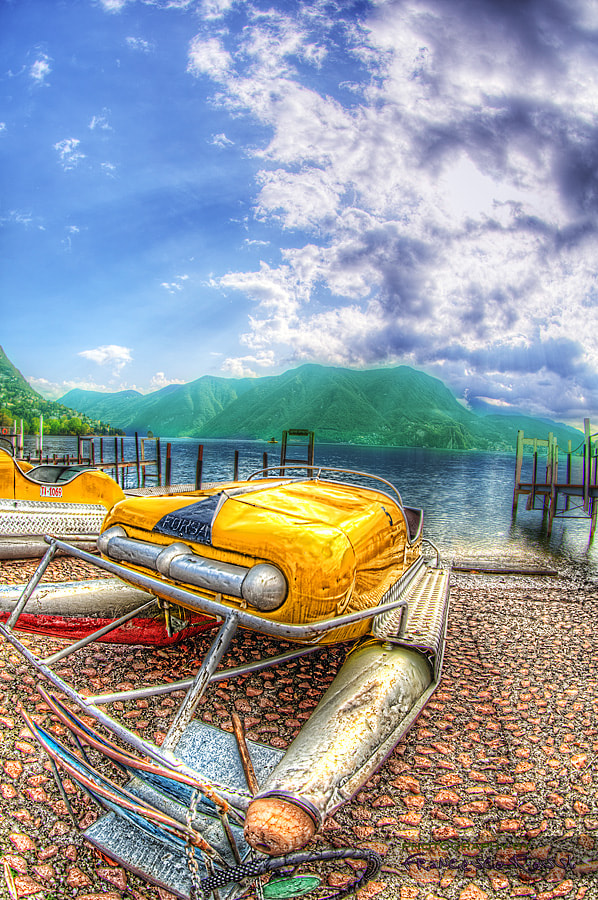 Photograph Lake Lugano by Francesco Rossi on 500px