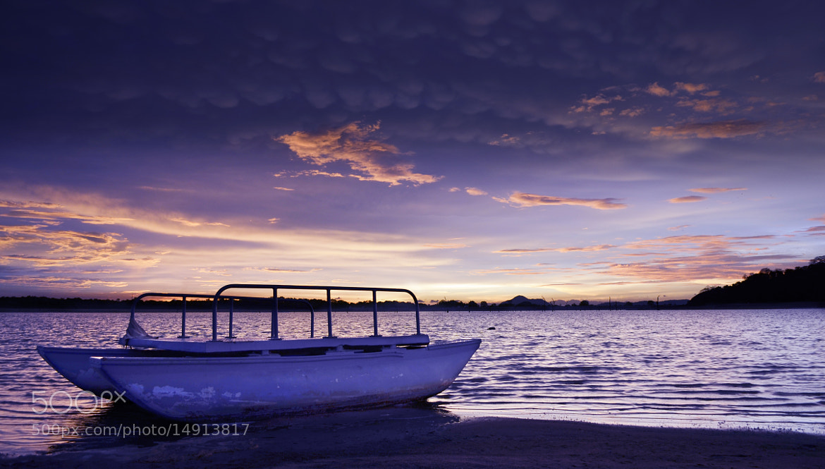 Photograph Purple dusk by Udara Muthugala on 500px