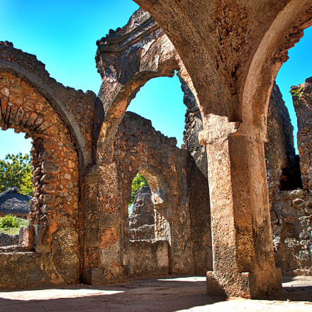 The ruins of Kilwa