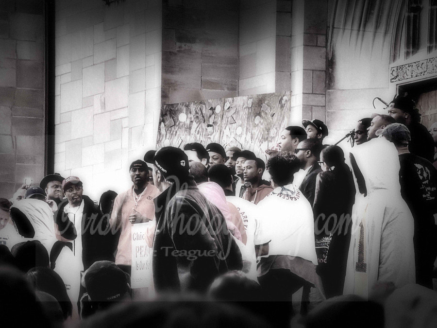 The Unforgotten at St. Sabina Peace Rally 6/2015 (B&W) by Teague DG on 500px.com