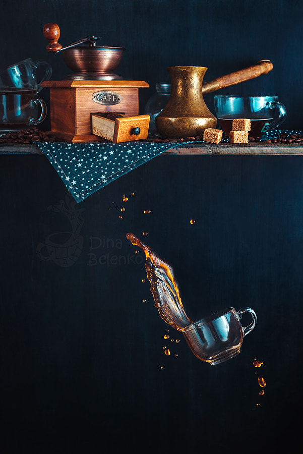 Coffee from the top shelf by Dina Belenko on 500px.com