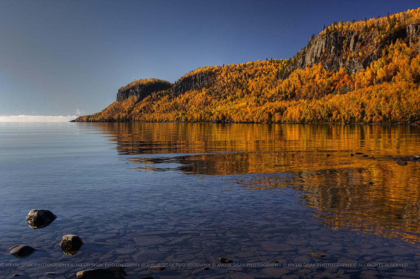 Photograph Fall Colours in the Squaw Bay II by Jakub Sisak on 500px