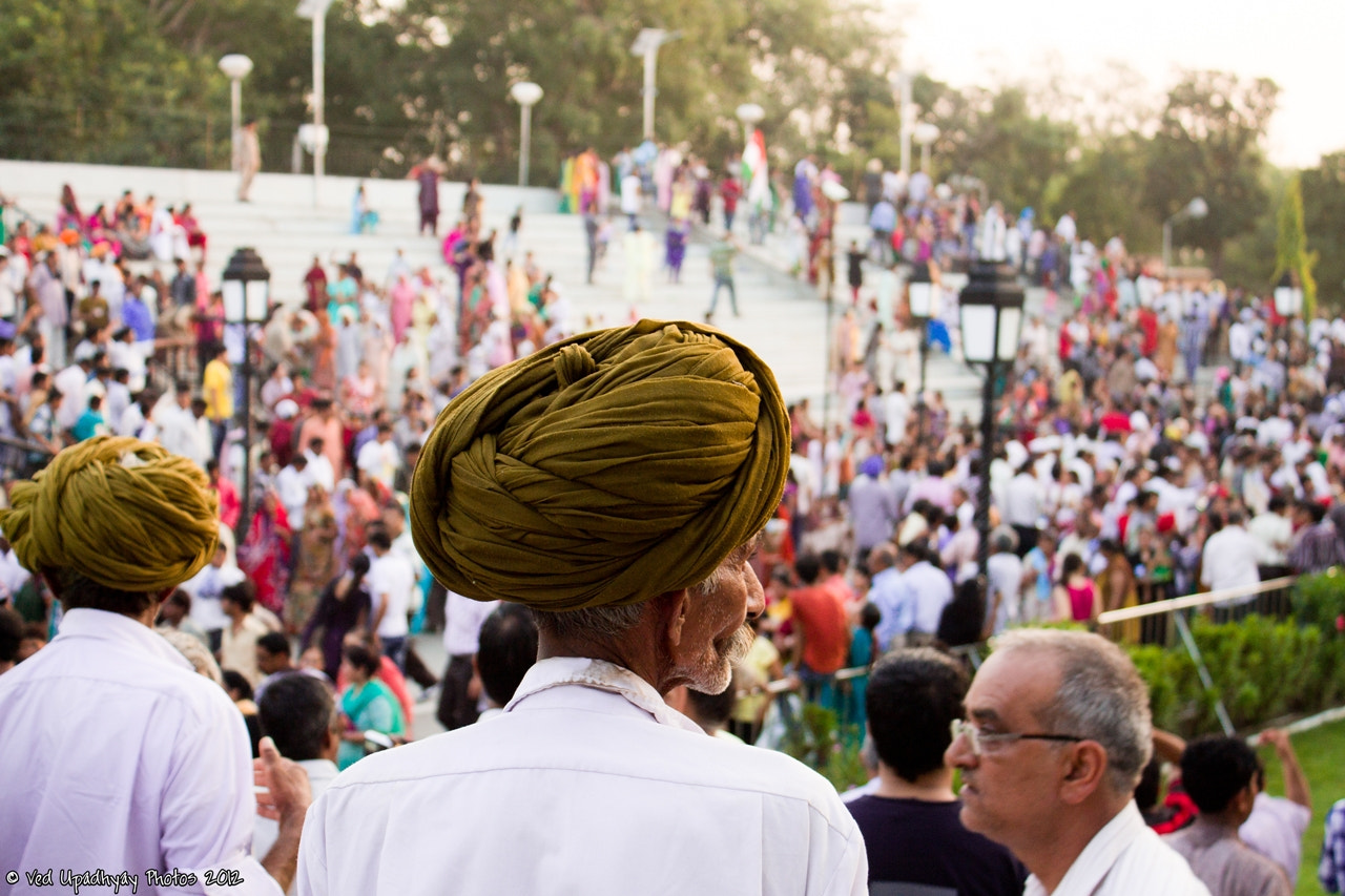 Photograph Man at the Wagha Border by Ved Upadhyay on 500px