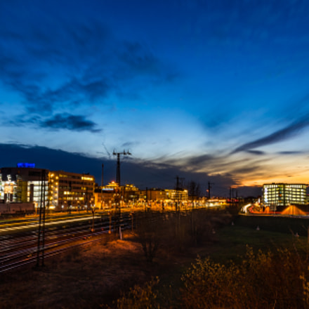 Blue Hour III, Sony ILCE-7M2, Tamron 24-135mm F3.5-5.6