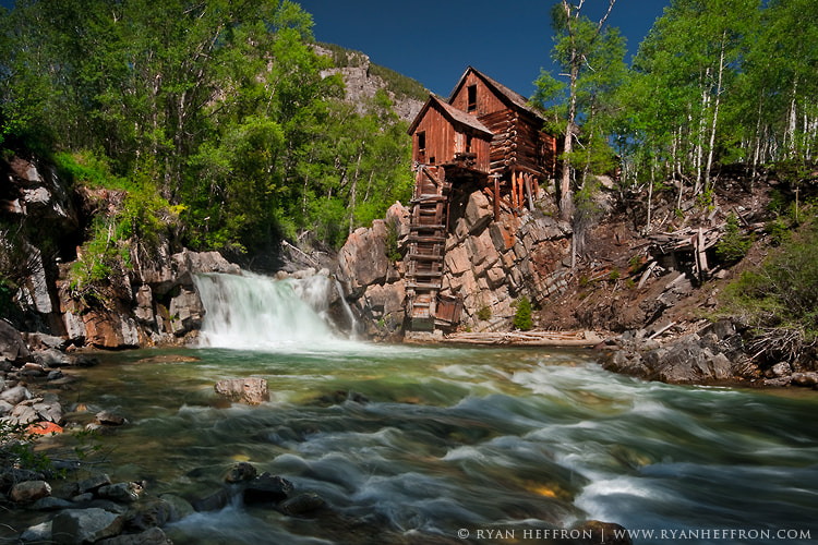 Photograph Crystal Mill by Ryan Heffron on 500px