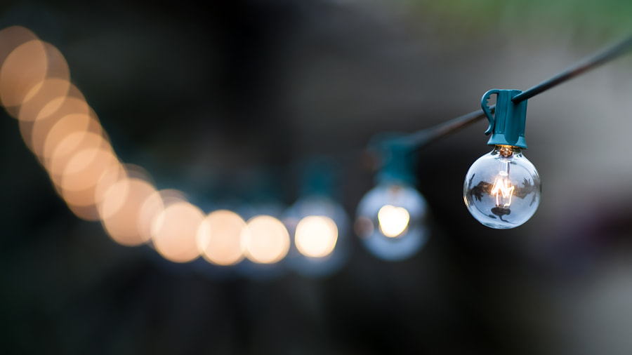 Bulb Bokeh by Dean Machin on 500px.com
