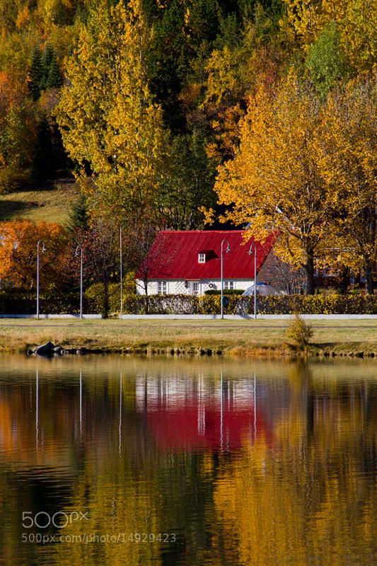 Photograph Red roof by Margrét Elfa Jónsdóttir on 500px