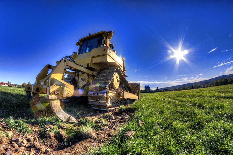 Photograph Bulldozer by Wolfgang Voigt on 500px