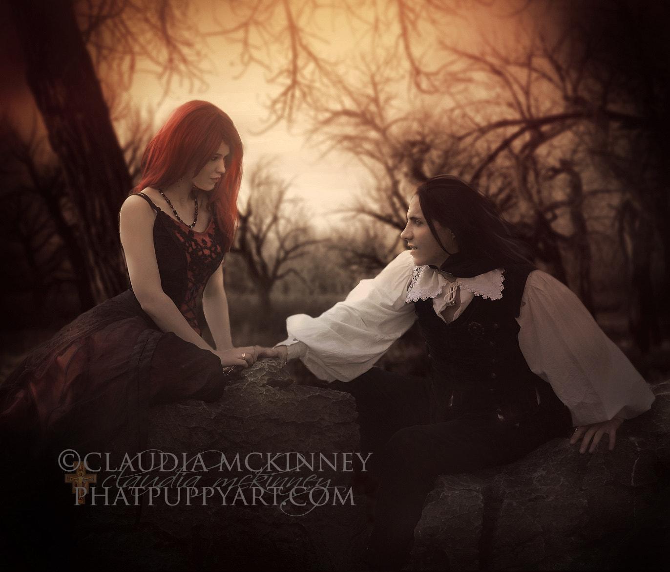 Photograph Gothic Romance by Phatpuppy Art on 500px