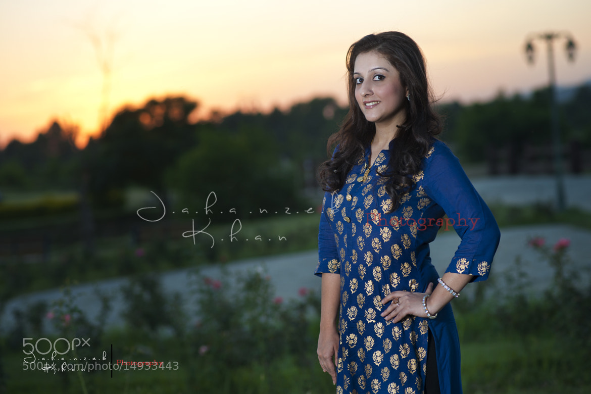 Photograph Nida Portfolio Shoot by Jahanzeb khan on 500px